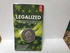 State of Washington Cannabis Silver Coin