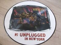 NIRVANA RARE PICTURE UNPLUGGED IN NEW YORK