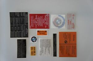 BMW E12 535i Sticker Set Aufklebersatz