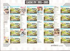 INGHILTERRA,FOGLIO CLASSIC LE TV PRIVATE 1955-2005, SCONTO ASPETTANDO IL 2019