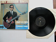 "Roy Orbison Sings 12"" Lp With Jerry lee Lewis & Tommy Roe Allegro ALL778 UK 1965"