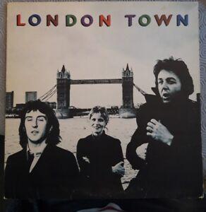 WINGS LONDON TOWN VINYL LP 1978