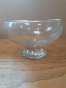 Glass Trifle Bowl 18cm