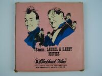 Laurel & Hardy Movies Super 8mm Flim on Reel From Soup To Nuts Blackhawk Films