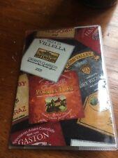 Wine Labels Passport Cover Fabric Vinyl Custom Travel Accessory Gift California