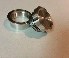 CNC Alum Cap Alum Bung MADE IN USA! Non Vented Filler Neck Kit o-ring Oil Tank X