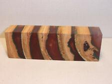 Kirsche, Hybrid Holz , Messergriff, Griffblock, Edelholz / 16/01 7