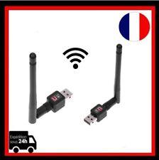 Mini Clé USB 2.0 Wifi Adaptateur LAN 802.11 n/g/b Réseau Sans Fil Antenne 300M