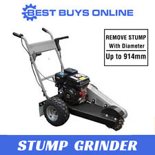 Stump Grinder Petrol 6.5HP Engine Wood Tree Root Removal 305 mm Cutting Depth