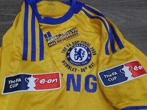 Chelsea FA Cup Final 2009 away shirt jersey yellow 2008 original rare