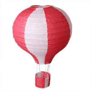 Hot Air Paper Lantern Ceiling Lamp Shade Wedding Party Balloon Decoration