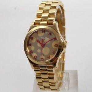 Original Marc by Marc Jacobs Uhr Uhren Damenuhr MBM3270 Henry gold Markenuhr NEU