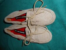 Oliberte tan suede Niami leather boat shoes flats display size 7M New no box