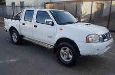 2010 NISSAN NAVARA D22 DUAL CAB 4X4 ST-R 2.5L TURBO DIESEL M LIGHT DAMAGE DRIVES