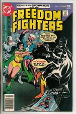 DC Comics Freedom Fighters #10 October 1977 1st Bronze Age Catman Scarce VF+