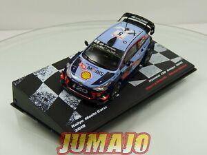 RMIT15 1/43 IXO Rallye Monte Carlo 2018 : HYUNDAI i20 coupe WRC Neuville