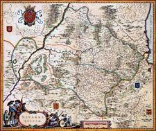Reproduction carte ancienne - Navarre 1638