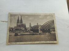 Frankierte Ansichtskarten aus Deutschland mit dem Thema Brücke