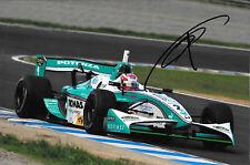 Kazuki Nakajima signé Team Tom's TOYOTA RV8K, formule NIPPON JAPON 2012