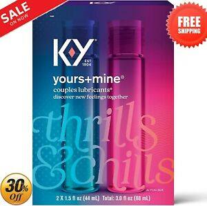 KY Jelly His And Hers Best Stimulating Lubricant Men Him Women Sex Lubes Couples
