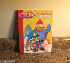 Christmas Rudolph The Red Nosed Reindeer Coloring And Activity Book Yukon NEW