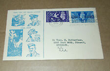 Historical Events Great Britain First Day Covers (Pre-1952)