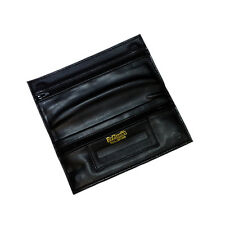 Dr Plumb Leather Wallet Tobacco Pouch with Zip & Cigarette Paper Holder P35503