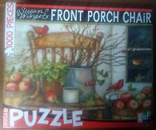Susan Winget Front Porch Swing Puzzle - 1000pc Go! Games puzzle - New unsealed