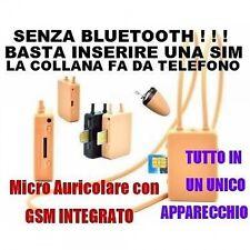Micro Auricolare Spia Spy Nascosto Bluetooth Induttivo Invisibile