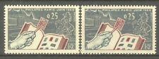 """FRANCE STAMP TIMBRE 1403 """" CHEVAL, PHILATEC , VARIETE DE COULEURS """" NEUFS xx TTB"""