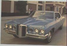 1970 Pontiac Catalina Hardtop Coupe Advertising Postcard