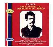 GUSTAV MAHLER Das Klagende Lied, Symphony No. 10 Ligeti RARE CD 59918104024