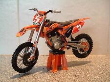 TOY MOTOCROSS BIKE MODEL 1:12 RYAN DUNGEY RED BULL KTM #5 SXF 450 2012 GIFT