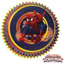 NEW WILTON ULTIMATE SPIDERMAN BAKING CUPS (50)