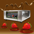 110V Commercial Electric Chocolate Tempering Machine Melter Maker /2 Melting Pot
