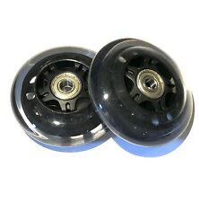 MICRO MAXI SCOOTER Replacement Rear Wheels - Transparent - Including Bearings