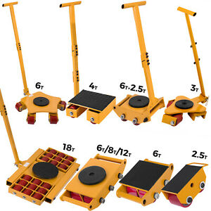 VEVOR Machinery Mover Multi Species Steel Machine Skate Dolly Mover