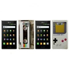 Set Cell Phone Case Protective Cover Motif Gameboy for LG Optimus L7