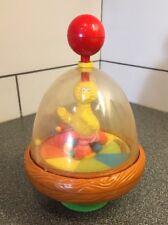 BIG BIRD  Sesame Street ILLCO TOY Globe Spinner Ultra Rare Collectible.