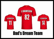 PERSONALISED Football LIVERPOOL PRINT XMAS FATHER'S DAY GIFT Dad Friend Present