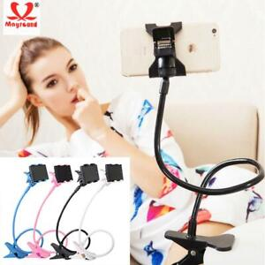Universal Flexible Lazy Bed Desk Bracket Long Arm Stand Holder For Mobile Phone