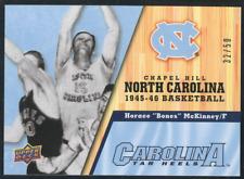 2010-11 Upper Deck North Carolina Parallel #6 Horace Bones McKinney /50 SP UNC
