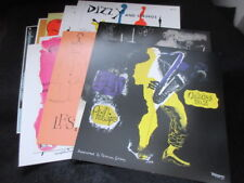 David Stone Martin Japan Promo Verve Sleeve Design Poster Jazz Album Covers