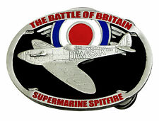 Supermarine Spitfire Belt Buckle Battle Of Britain WW2 Authentic Dragon Designs