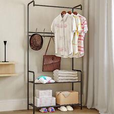 Coat Hat Bag Clothes Stand Shoe Rack Hanger Hooks Shelf Storage Multi Function