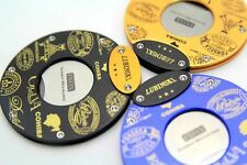 New Design LUBINSKI Round  stainless steel blade cigar cutter scissors  3 colors