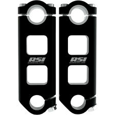 "RSI Pivoting Handlebar Risers 2"" Inch Snowmobile 7/8"" 1-1/8"""