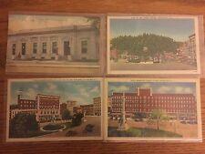 Lot of 4 Vintage Watertown NY Postcards, Public Square, Woodruff, Post Office