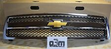2007-2011 Chevrolet Silverado Front Chrome Grille with Bowtie new OEM 19303978