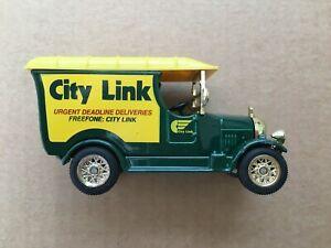 Vintage Oxford Die Cast Limited Ed. CITYLINK VAN  Boxed Toy Die Cast Car Truck